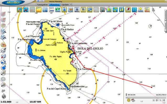 Isola del Giglio, site of the Costa Concordia shipwreck
