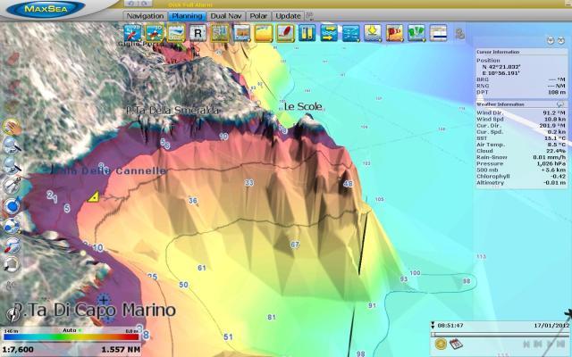 Isole Le Scole 3D MapMedia