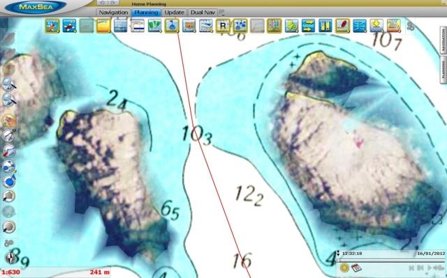 Isole Le Scole Raster MapMedia mm3d + PhotoFusion