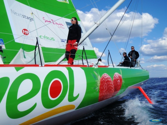Sam Davies - Savéol Boat - Sponsored by MaxSea & Furuno 4