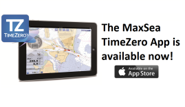 The MaxSea TimeZero App is available now!