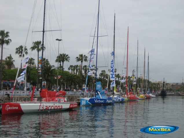 Europa Warm'Up 2012 - Barcelona Port