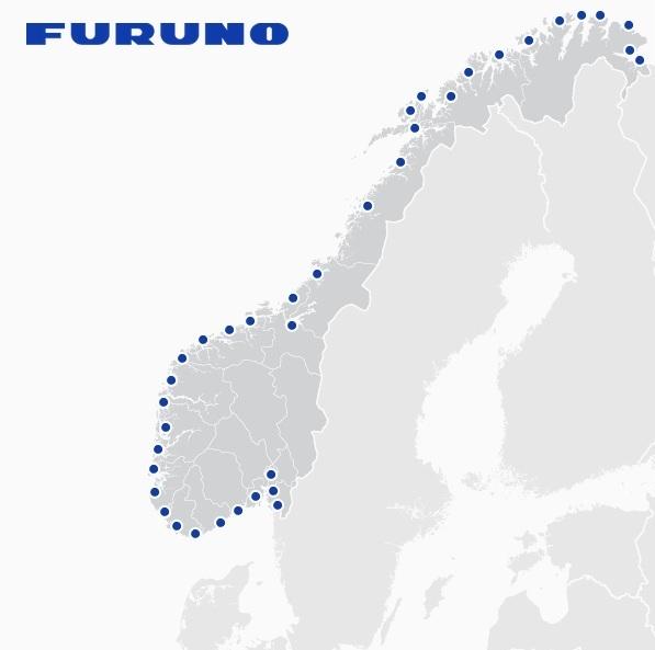 Furuno dealers in Norway