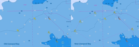 Liverpool Bay Jeppesen vector chart update
