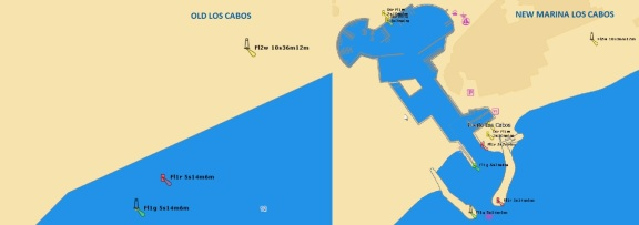 Marina Los Cabos Jeppesen vector chart update