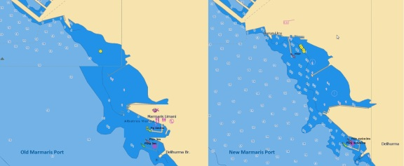 Marmaris Port Jeppesen vector chart update