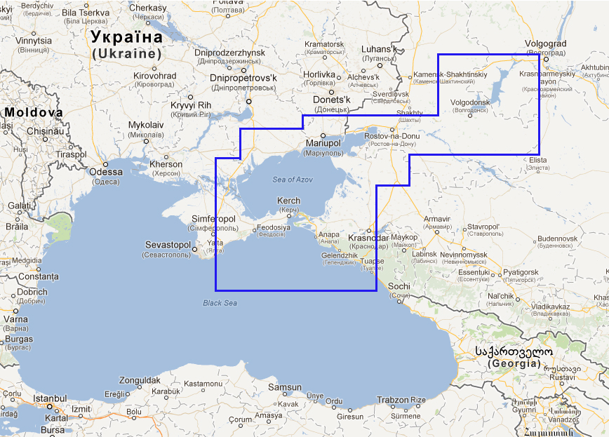 New chart - WVJRSM235MAP3.1 Volgo - Don and Azov Sea