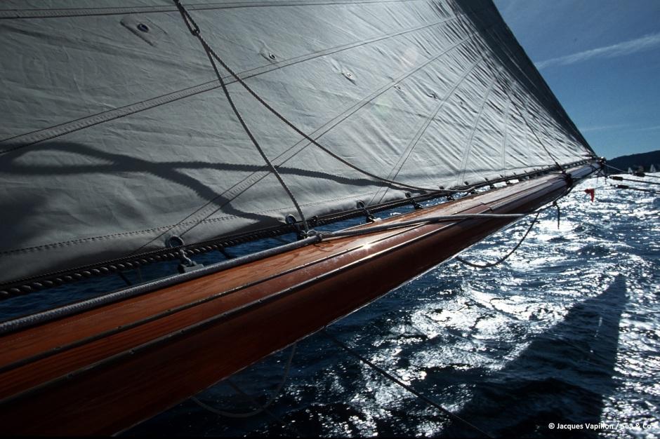 Tuiga classic yacht 1993