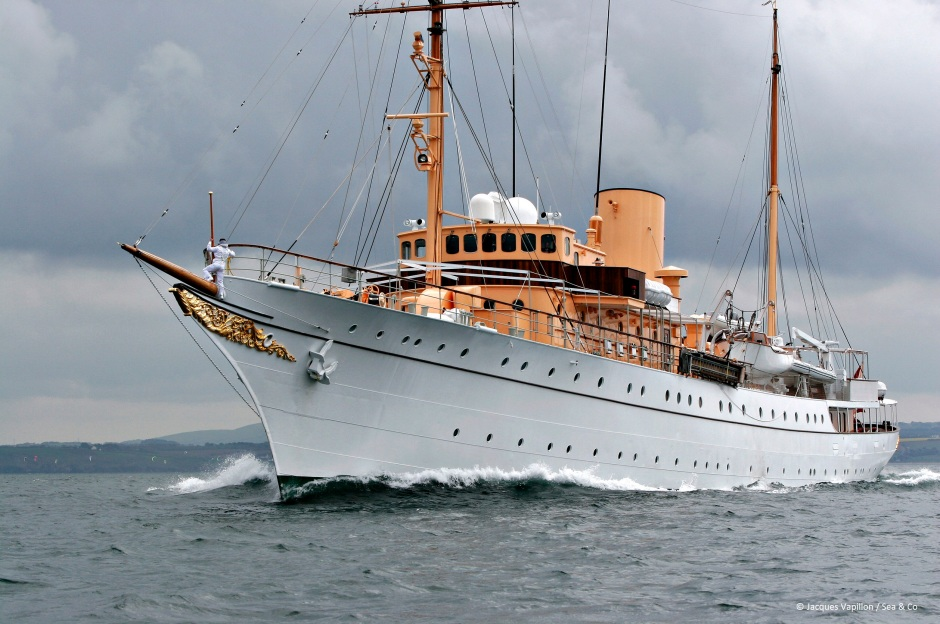 The Royal Yacht Danneborg - Denmark