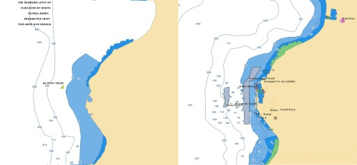 Old/New Red Sea - Arabian Gulf Navionics vector chart
