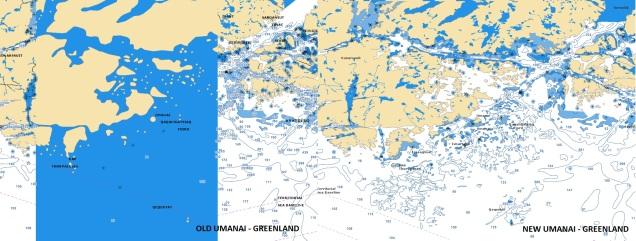 Umanai - Greenland - Navionics electronic chart