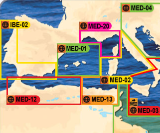 Mediterranean MapMedia mm2 Navigation Charts