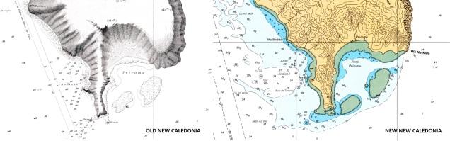 French Polynesia & New Caledonia Raster Chart Update (WRMPC02MAP2.1)