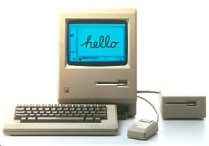 Third Macintosh 128k ever sold in France