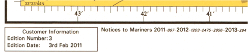Hydrographic chart NTM