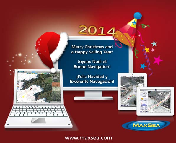 Maxsea Card Christmas New Year 2014