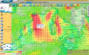 Weather forecast in MaxSea TimeZero: an essential tool to avoid boat accidents
