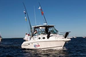 Team Ashram's boat