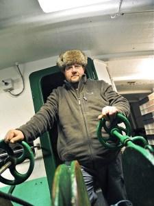 Dimitri Rogoff onboard