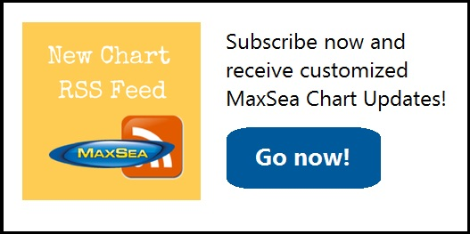 New MaxSea Chart RSS Feed
