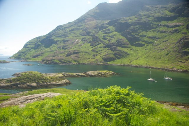 Lochs in Scotland: Beautiful scenery in Scotland