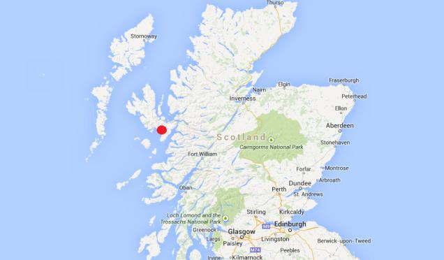 Lochs in Scotland: Scavaig, Isle of Skype