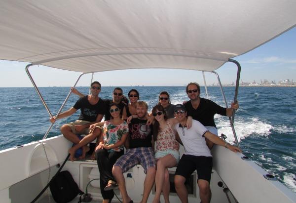 The MaxSea Naval staff