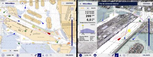 MaxSea TimeZero App: AIS compatibility
