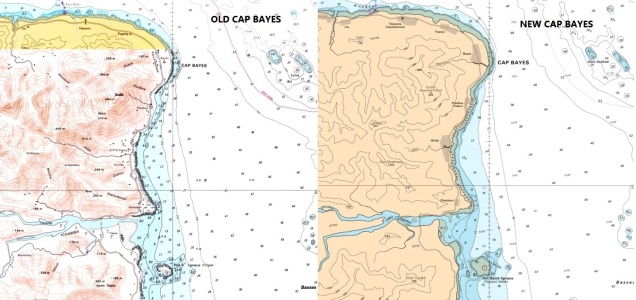French Polynesia and New Caledonia Raster Chart Update